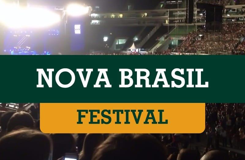 FESTIVAL NOVA BRASIL – dia 09/11