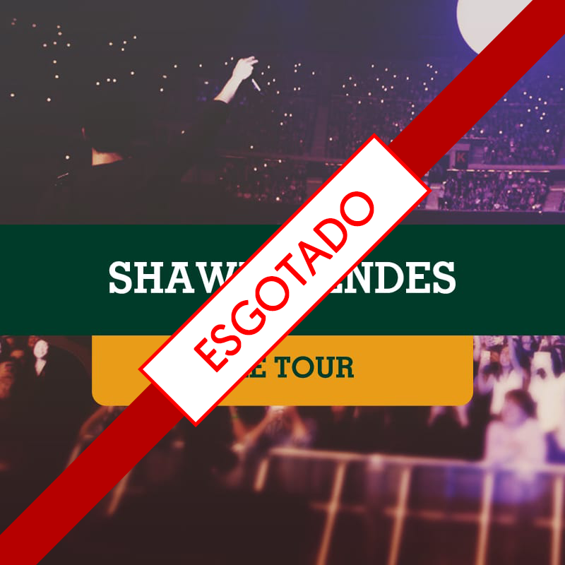 Shawn Mendes no Allianz Parque dia 30/11