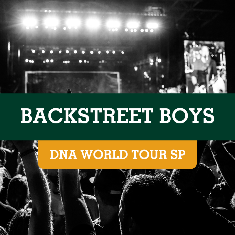 Backstreet Boys – Allianz Parque