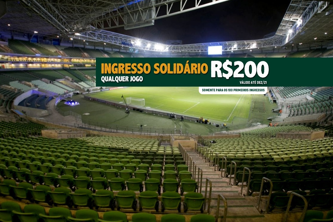 Palmeiras x Lote exclusivo 2020-2021 solidário